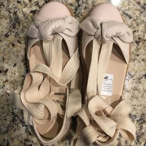 Fenty Bow Creeper Sandals (Nude)